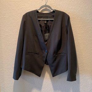 Lane Bryant grey Tailored Stretch jacket, 20